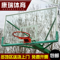 Tempered glass backboard basketball board outdoor tempered backboard indoor outdoor tempered glass backboard
