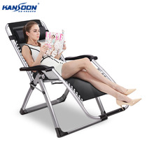 Kcool luxury outdoor folding chair deck chair beach chair office back chair nap paternity bed folding bed home