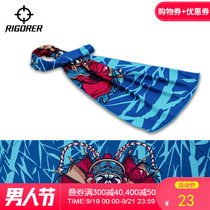 Quasi-printing cold towel sweat sweat quick dry absorbent towel basketball running gym sports towel