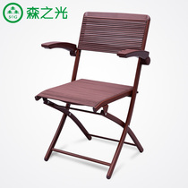 Mori light mahjong chair chess Chair Home Comfort folding chair training conference computer chair breathable backrest chair