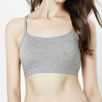Thin tube top with chest pad small vest female underwear underwear short non-wire bra summer girl underwear wrapped in the chest