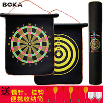 Dart set Boca household childrens magnetic large two-sided darts target safety magnet magnet Flying Standard