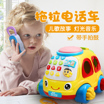 Baby children telephone children toys mobile phone 0-1 years old 3 baby early education Puzzle Music Electric Car Toys