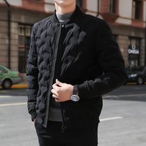 Cotton jacket mens jacket winter 2019 new Korean version of the trend short casual slim down cotton winter jacket