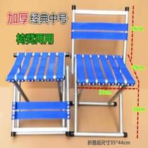 Breathable creative anti-slip home little boy short single stool Maza mini table top carrying blue chair adults