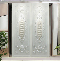 Wardrobe sliding door custom sliding door custom soft bag sliding door high-end European-style Environmental Protection factory direct wardrobe closet door