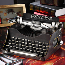 European-style vintage typewriter model fashion home iron Telegraph ornaments creative photo building props