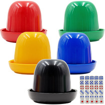 Dice roll set tongle KTV cab supplies color roll dice color in the sieve to send dice t002