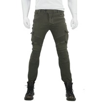 Army green casual Harley motorcycle jeans motorcycle riding jeans motorcycle racing pants