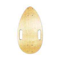 Four wheel skateboarding mini small maple small fish board original wood leaf board guar egg egg plate modified accessories