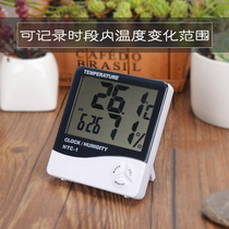 Home balcony gardening high-precision thermometer humidity count was Greenhouse wall-mounted measuring high and low temperature measurement of summer