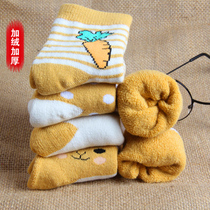 Winter children's socks cotton and cashmere thick socks autumn and winter baby socks tube socks warm Boys Girls