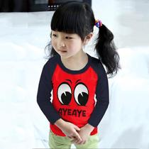 Childrens long-sleeved T-shirt spring and autumn childrens childrens childrens childrens boys play bottom shirt autumn shirt autumn shirt shirt yy