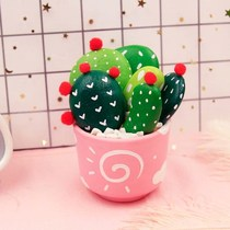 Stone painting creative diy Cactus potted painting painted color kindergarten childrens handmade diy production material package