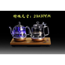 Automatic Sheung Shui electric kettle bottom kettle self-suction tea cooker household glass teapot