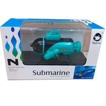 Four-six Channel mini rechargeable remote control submarine speedboat racing boat children toy boat nuclear submarine Water Electric Boat