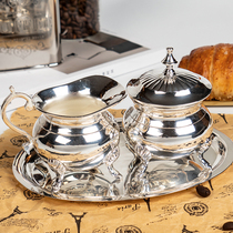 European romantic home French court milk can milk can milk small milk pot sugar can coffee can tea can tea can.