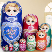 ★ Professional matryoshka shop★ really hand-painted formaldehyde-free taste Basswood imported Russian matryoshka 10 layer 1098