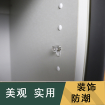 Plastic laminates Shaw hole cover layer plate bracket hole cover Cabinet row drilling plug cabinet laminates accessories