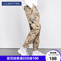 Lilbetter camouflage workpants mens tide slot pants loose national tide pants hundred ride Hong Kong wind casual pants