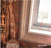 European-style lines imitation marble decorative lines window sets of lines door sets of lines TV background wall border lines