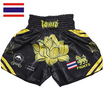 Soft monkey ROLLHO Muay Thai fighting broadcast request Lotus Thailand Sports MMA shorts stretch fitness martial arts apparences UFC