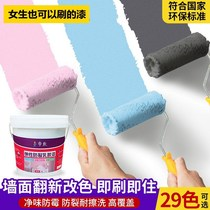 Repair net taste pattern light gray tasteless handmade paint diy color spray paint bucket wall paint interior wall paint coating
