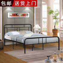 European minimalist wrought iron bed princess bed iron bed 1 2 m single bed children 1 5 M 1 8 m double bed