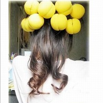 Amoy music cake type sponge hair sponge curling ball pear curly hair can be worn to sleep 12 price