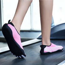 Wading five fingers socks shoes yoga shoes women soft bottom non-slip indoor fitness treadmill shoes women dedicated swimming shoes women