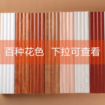 Chinese Enterprise Wardrobe Roman column door set line external line background wall line top corner color card display diagram
