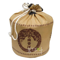 Puer tea seven-child cake non-woven bag tea bag large can be packed 357g cake tea 7 cake tea packaging