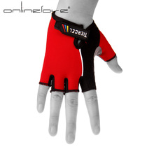 Summer riding gloves bicycle gloves half finger short finger mountain bike equipment bicycle short finger gloves men and women models