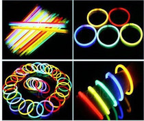 Dance concert party flash stick high brightness time long glow stick bracelet luminous stick with joint