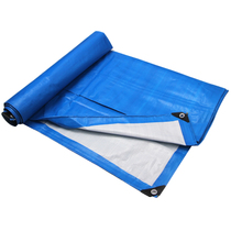 Anti-raincloth plastic cloth waterproof cloth tarpaulin thickening shading color strip block Raincloth canvas lorry rain shed tarpaulin