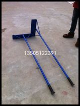 Track and field equipment high-quality iron aluminum alloy Flat Sand plate Flat Sand rake pit Flat Sand plate Flat Sand