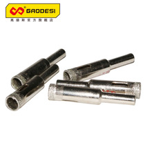 High deers ceramic wall tiles glass cement wall concrete cutout triangular drill bit alloy pistol drill