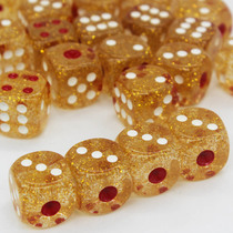 Mahjong game DICE 18mm Crystal dice sieve points dice sieve Cup color nightclub KTV