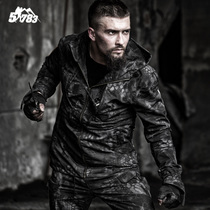 51783 Hunter Tactical windbreaker male python tattoo camouflage coat military fan outdoor special Forces M65 waterproof charge clothes