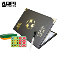 Senior football tactical board magnetic folding trainer game Training Command Board professional magnetic tactical board
