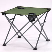 Folding table Outdoor small cloth table Fishing table wild table self-driving table camptable