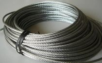 Galvanized wire rope 2MM 3MM 4mm 5MM 6MM 8mm 10MM wire rope oily wire rope making head
