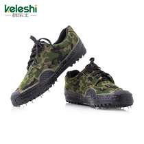 Jungle camouflage shoes liberation shoes mens Army shoes 07 Training Shoes low to help rubber shoes canvas shoes site wear-resistant labor protection shoes