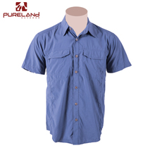 PureLand PureLand summer cool workwear quick-drying shirt workwear shirt outdoor light breathable