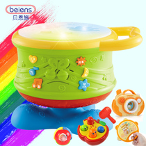 Bernsch Baby hand Pat baby toy Music Pat Drum 0-1 year old children early teach puzzle toy drum