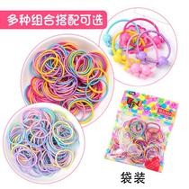 Fine Korean version of the fried hair band new baby girl head rope children baby children Hair Ring does not hurt the hair