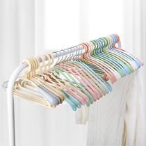 Baiyite thickened hanger T-shirt clothes can not afford to pack non-slip wide shoulder no trace adult baby 20 racks