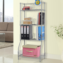 Space life five-story practical storage bookshelf shelf shelf shelf shelf finishing items rack wrought iron flower rack