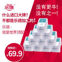 Lok de dent floss Rod ultra-fine bow independent packaging tooth line 500 boxed single dental floss toothpick family pack