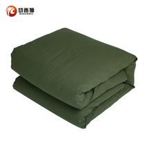 Genuine cotton flower Army quilts hot melt cotton Army Green warm winter students specials